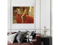 Canvas Wall Art HD Picture Home Decor for Living Room12X16in(No Framed)