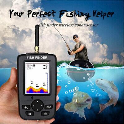 GPS Smart 45M Handheld Fish Finder Wireless Sonar Sensor Sounder Lake Fishing UK