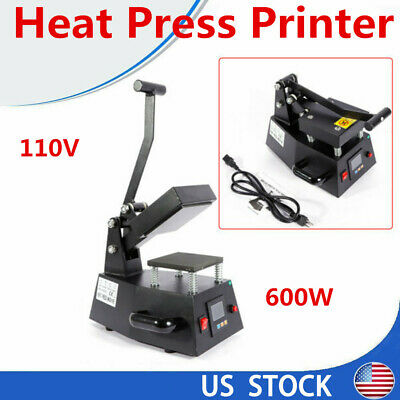 12cm12cm Digital Heat Press Machine Sublimation Transfer Small Size Logo Print