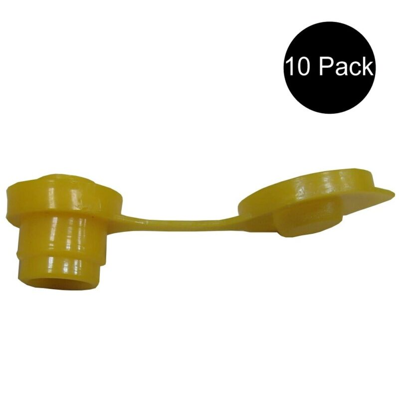 10 New Yellow Gas Can Vents for Blitz Wedso Eagle Scepter Essence Midwest