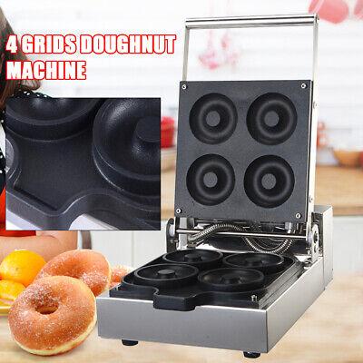 Heavy Duty Manual Doughnut Hole Donut Ball Maker Machine Fryer With 4 Mold