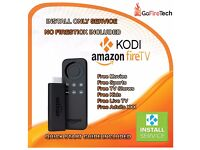 Amazon Fire Stick Kodi 16.1 Sports✔️Movies✔️TV✔️✔️Adult ( INSTALLATION SERVICE)