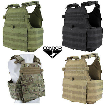 Condor MOLLE Operator Plate Carrier Vest Body Chest Assault Rig MOPC - Chest Plate