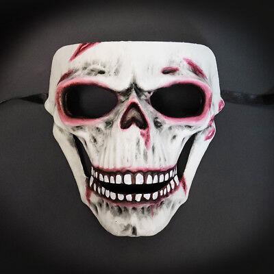 Masquerade Mask 2017 Limited Edition Halloween Horror Killer Skull Face Costume