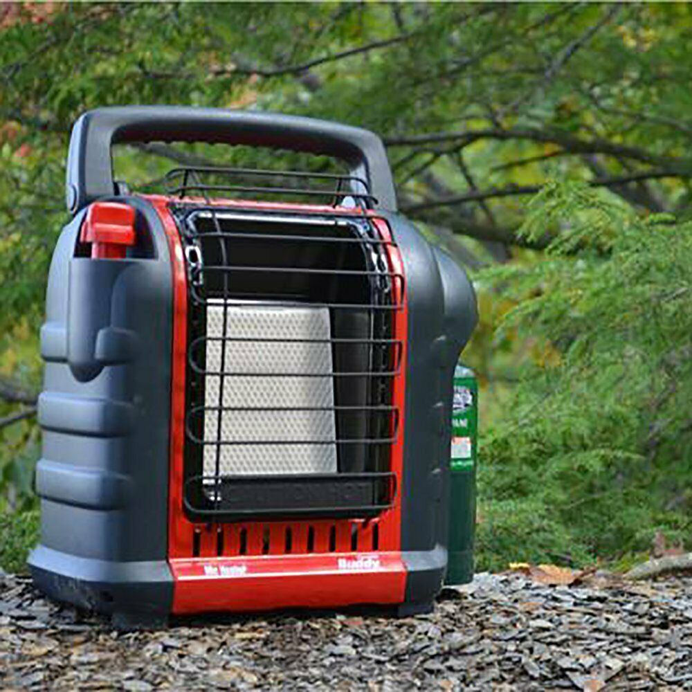 Portable Mr. Heater Buddy Propane Heater Camping Travel RV 9