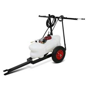Weed Sprayer 60L Tank With Heavy Duty Trailer & Rear Boom Melbourne CBD Melbourne City Preview