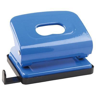 Idena 300908 - Locher Metall blau Lochung bis 16 Blatt Bürolocher NEU