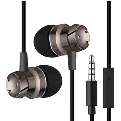 3.5mm Mikrofon Super Bass Musik In Ear Stereo Kopfhörer Headset Ohrhörer Metall 3.5 Mm Ohrhörer Ohrhörer