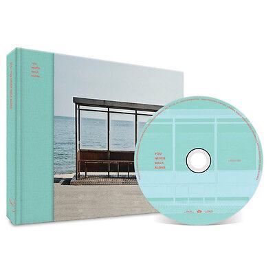 BANGTAN YOU NEVER WALK ALONE WINGS BTS [LEFT Ver] Album CD+Poster+Photocard+Gift