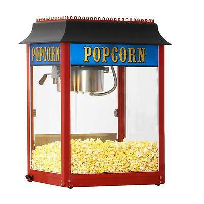 Paragon 1911 Style 8 Ounce Popcorn Machine Red Made In Usa