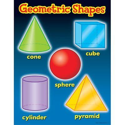 Shapes Chart (Geometric Shapes Learning Chart Trend Enterprises Inc.)