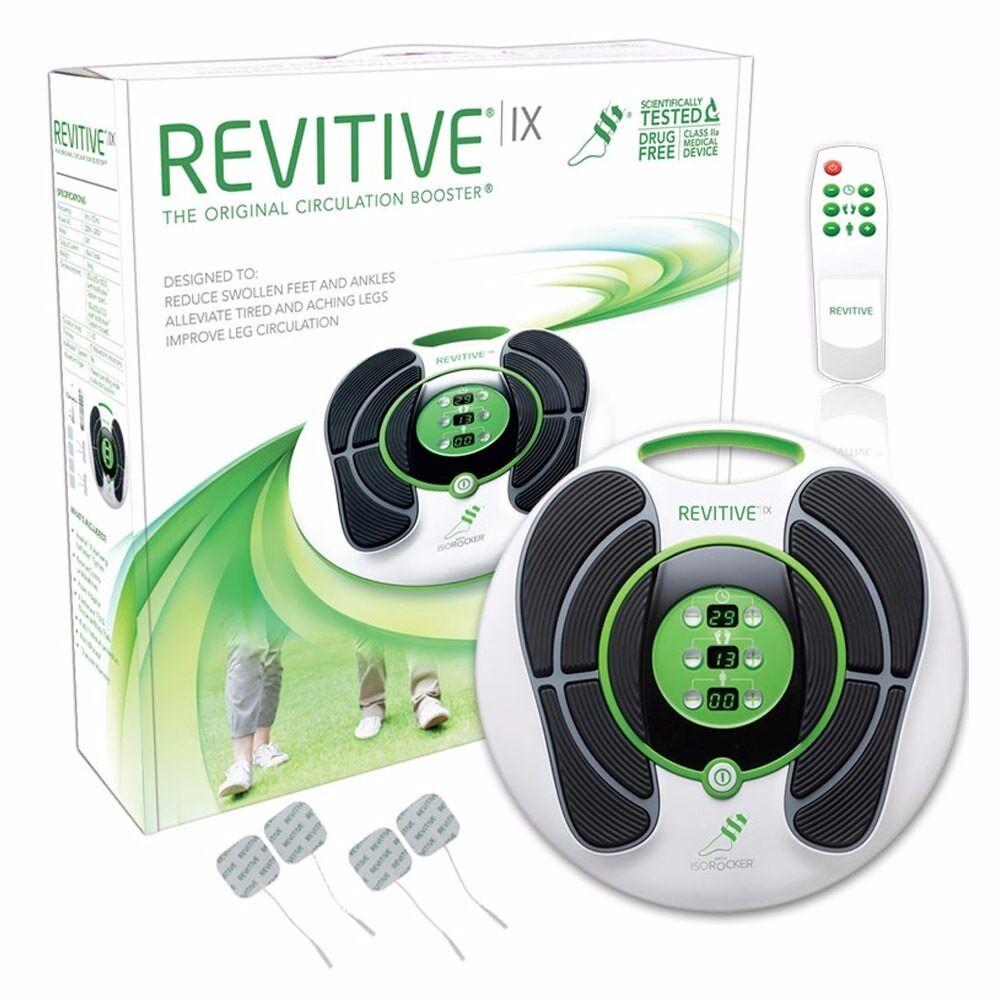 brand new revitive ix circulation booster with isorocker. Black Bedroom Furniture Sets. Home Design Ideas