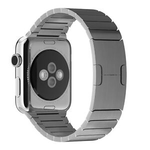Le Watch Link Bracelet Band Stainless Steel Silver 42mm
