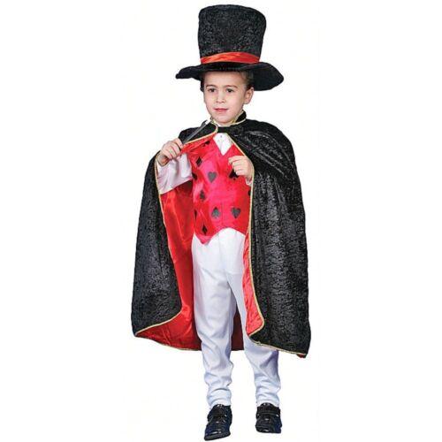 Magicians Top Hat And Cloak Sets Kids Fancy Dress RRP £12.95