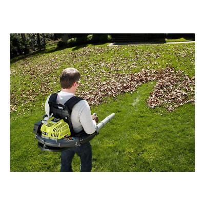 Backpack Gas Powered Leaf Blower Grass 175 MPH Light Weight Best (Best Gas Powered Leaf Blower)