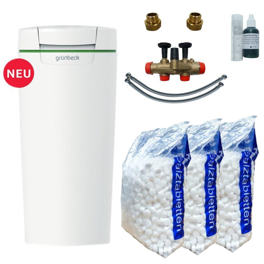 Grünbeck Wasser-Enthärtungsanlage softliQ SC18 Weichwasseranlage 188500 +3x Salz