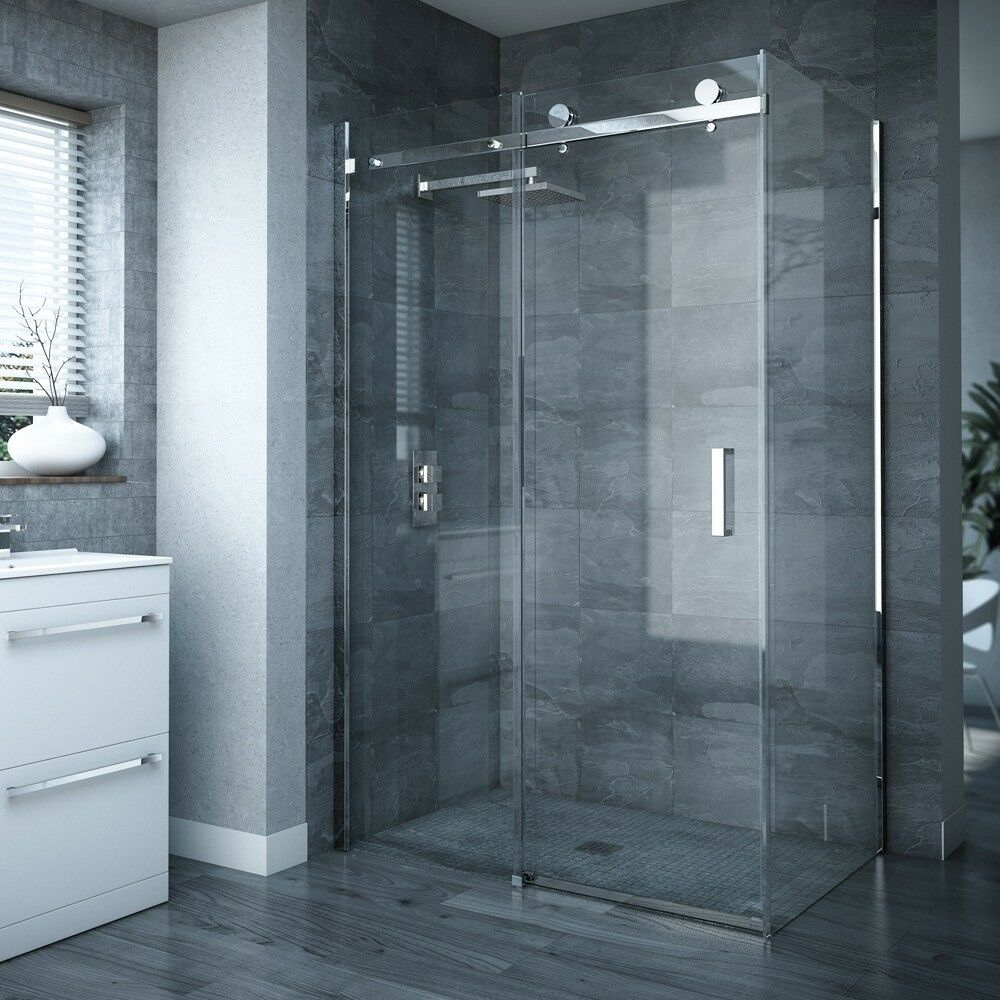 Brand New Sliding Shower Doors And Shower Tray 900 X 1200 From