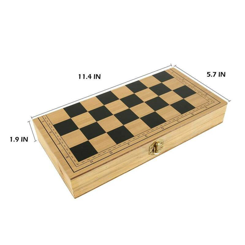 Folding Large Chess Set Chessboard Gift 290*145*48mm