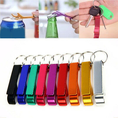 Beer Key Chain Bottle - 10x Bottle Opener Key Ring Chain Keyring Keychain Metal Beer Bar Tools Claw NICE