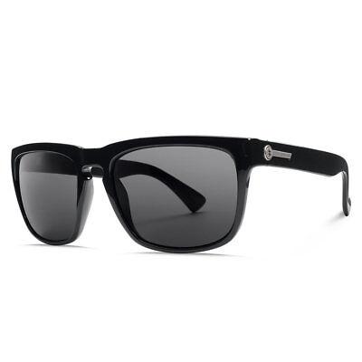 Electric Visual Neu Knoxville Sonnenbrille Glanz Schwarz Polarisiert mit Etikett