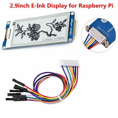 2.9inch E-Ink Display e-Paper Module for Raspberry Pi3 Ardui