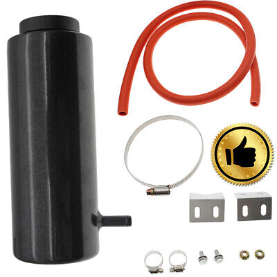 800ml Black Overflow Catch Tank Radiator Coolant Expansion Tank Bottle Header