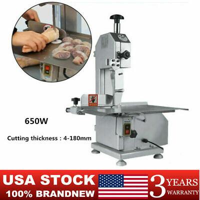650w Electric Frozen Meat Bone Cutting Sawing Machine Commercial Bone Sawing Usa