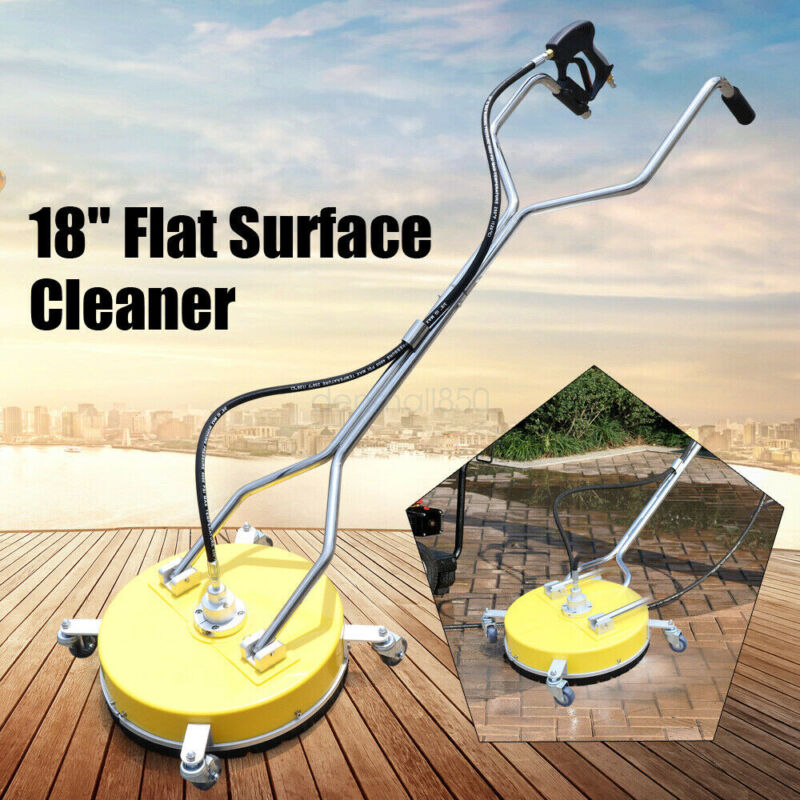 """Surface Cleaner Concrete Cleaner cold hot Water cleaner 4000PSI/275BAR 18"""""""