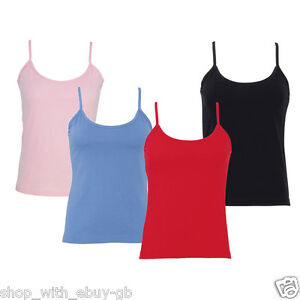 NEW-LADIES-GIRLS-STRAPPY-VEST-TOP-SUMMER-GYM-CASUAL-CAMISOLE-T-SHIRT