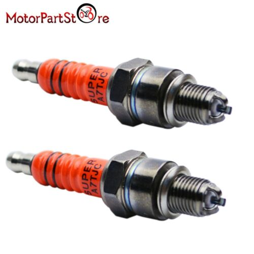 A7 2X Racing 3 Electrode Spark Plug A7tc 50 110 125 150cc Atv Scooter Dirt Bike
