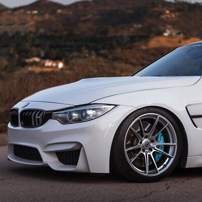 "20"" HRE FF04 FLOW FORM 20x10 20x11 SILVER CONCAVE WHEELS RIMS FITS BMW F80 M3 for sale  Shipping to Canada"