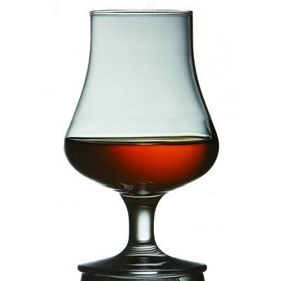 Brilliant   Highland Tasting And Nosing Scotch Glass On A Short Stem  Gift Boxed