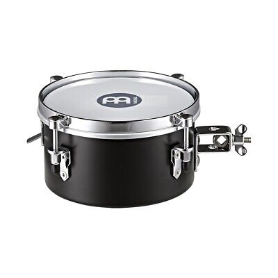 """Meinl Percussion MDST8BK Drummer Snare Timbale - Black (8"""")"""