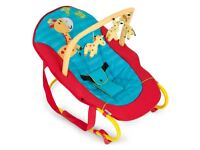 Hauwk Deluxe baby bouncer - used once £10 RRP £50