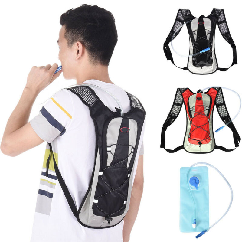 Sporting Backpack 2L Water Bladder Bag Hydration Packs Camel
