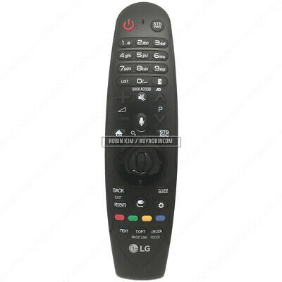 LG Genuine AN-MR650A Magic Remote Control for Compatible 2017 LG Smart TV