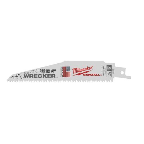 Milwaukee 48-01-7701 WRECKER Multi-Material SAWZALL Blade 6 in 7/11TPI 100PK