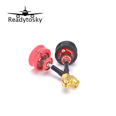 Pagoda2 5.8GHz FPV Antenna SMA & RP-SMA Plug Connector for RC FPV Racing Drone