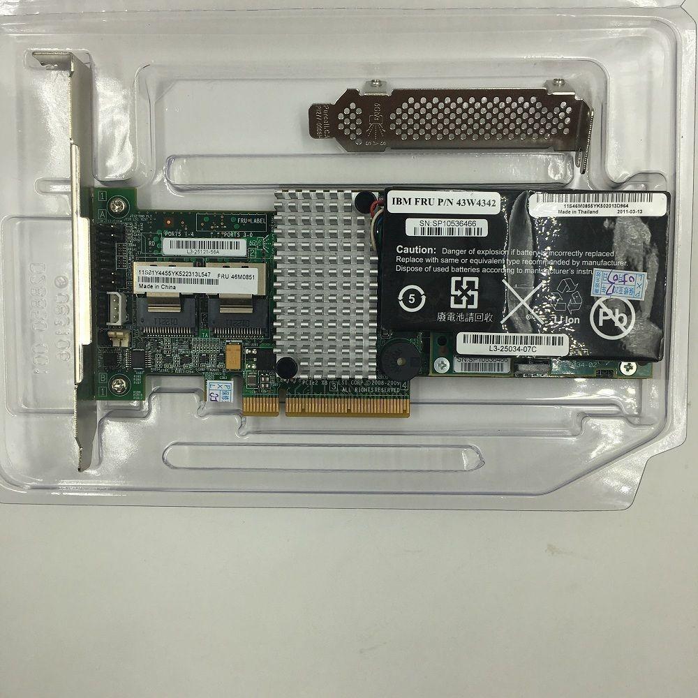 Details about IBM M5015 / LSI Megaraid SAS 9260-8i SATA / SAS Controller  +battery