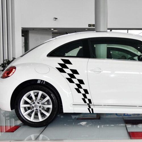Car Hood Roof Rear Stripes Decal Sticker for Volkswagen Beetle 2011-2018