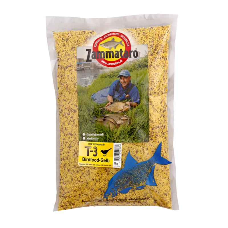 Zammataro T-3 Birdfood gelb 1kg