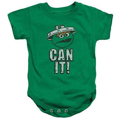 SESAME STREET CUTE N GRUMPY OSCAR Toddler Kids Tee Shirt 2T 3T 4T 4 5-6 7