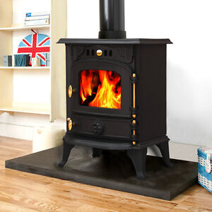 Wood burner hook up