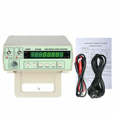Vc3165 Precision Frequency Counter Frequency Meter Digital Cymometer 0.01hz-2.4g