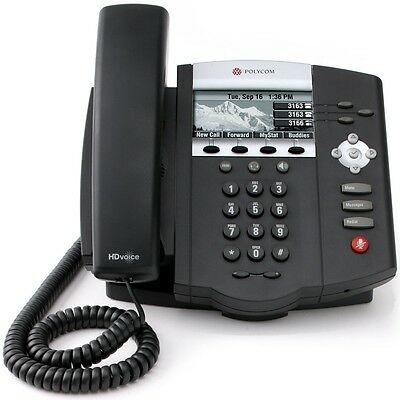 Polycom Soundpoint Ip450 3-line Sip Wpoe 2200-12450-025 Voip - Refurbished