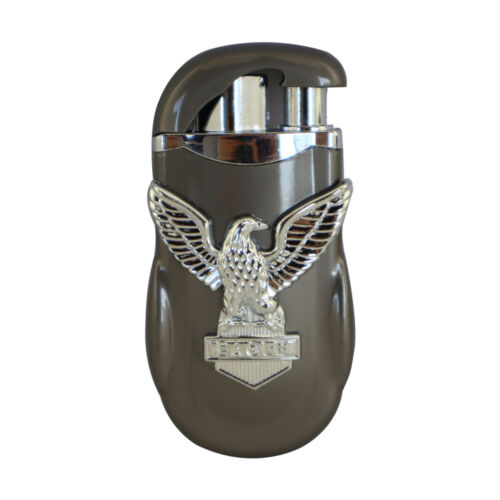 American Eagle Single Jet & Regular Flame Butane Cigarette Cigar Torch Lighter