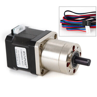 Extruder Gear Stepper Motor Ratio 271 Planetary Gearbox Nema 17 Step Motor New