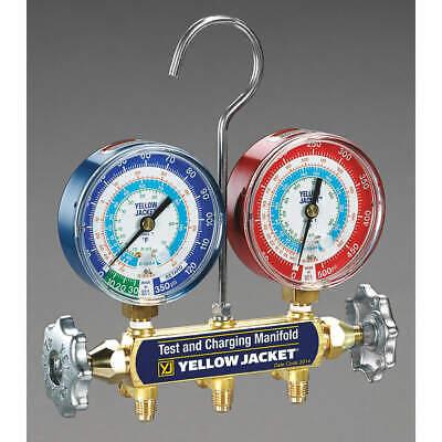 Yellow Jacket 42005 Mechanical Manifold Gauge Set2-valve