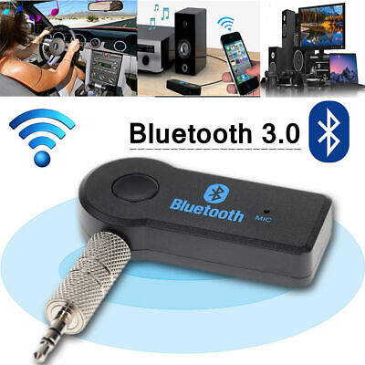 Bluetooth 3.0 Transmitter & Receiver A2DP Audio 3,5mm-Klinkenstecker-Aux-Adapter