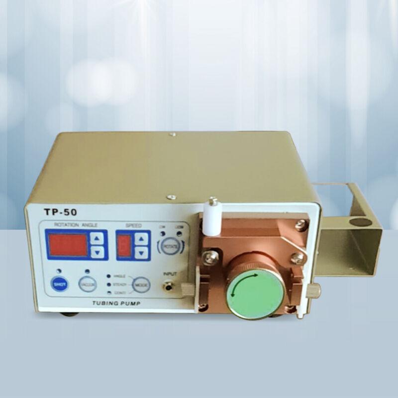 TP-50 Peristaltic Dispensing Machine 2 Modes Gluing Dispenser w/ Dispensing Pen